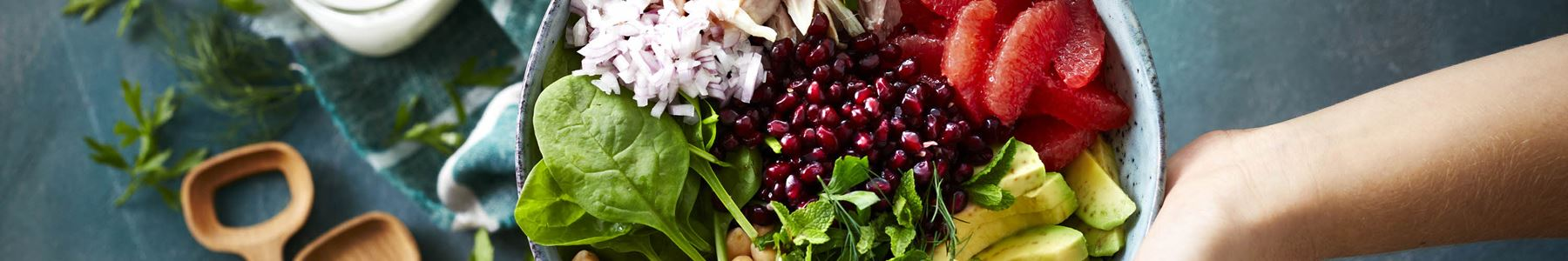 Kikært + Salater + Hvidløg