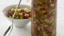 Agurkerelish med chili