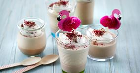 Chokolademousse med kakaomælk
