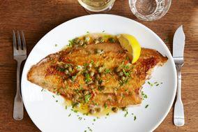 Meunierestegt fisk med brunet smør