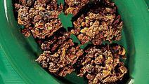 Chokoladetoppe med cornflakes
