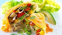 Enchiladas med ost