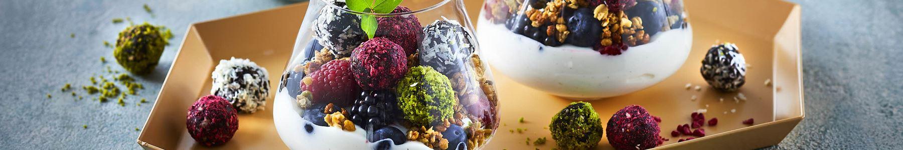 Blåbær + Snacks og tapas
