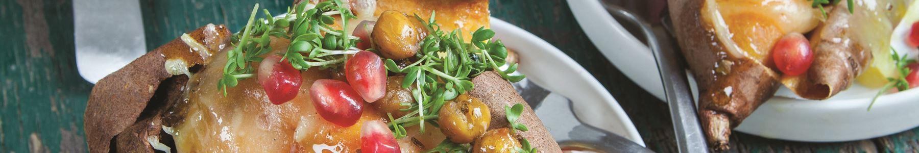 Granatæble + Kartofler