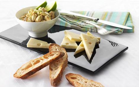 Nødder med honning og lime