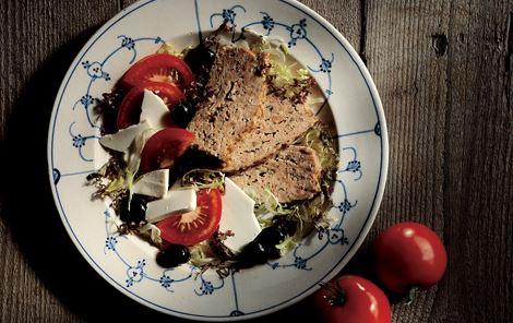 Lammepaté med salat