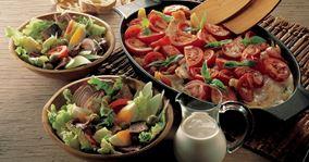 Rødfisk og kartofler i ovn
