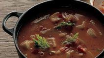 Fiskesuppe med fennikel
