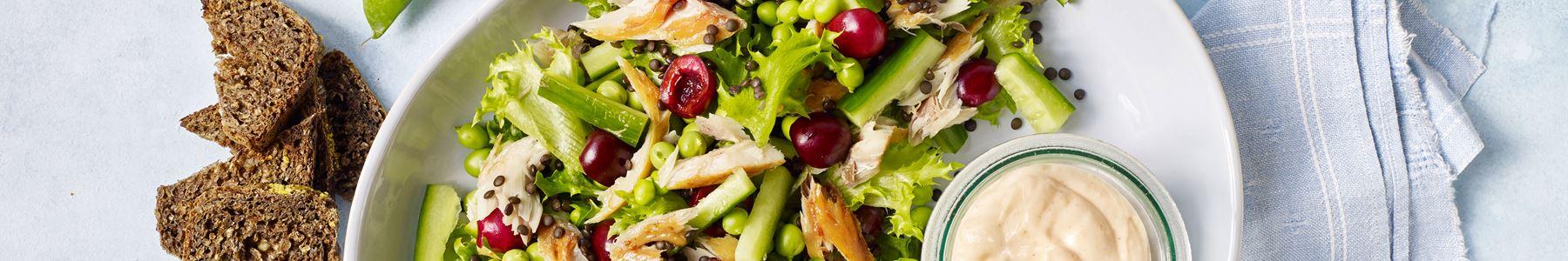 Hurtig + Kirsebær + Salater