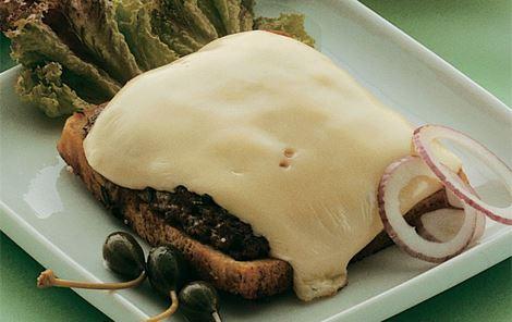 Sandwichbøf med ost