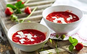 Jordbærgrød