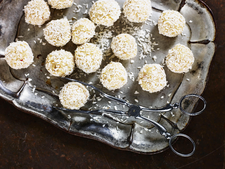 Havregrynskugler - snebolde med lime