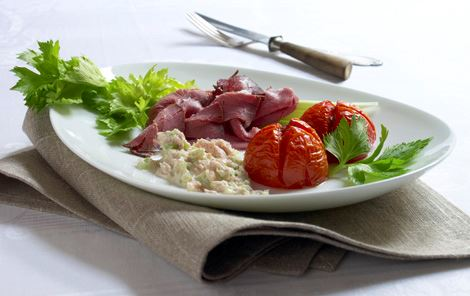 Roastbeef og tunsauce