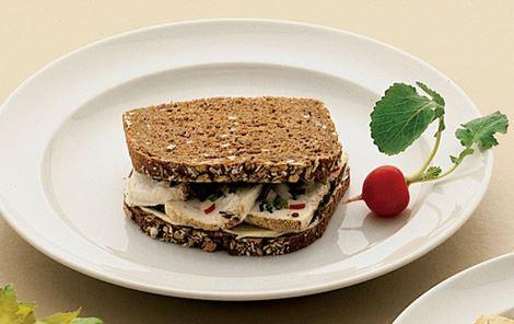 Sandwich med rygeost