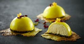 Citronmousse dessert