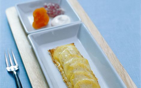 Kartoffeltærter med kaviar