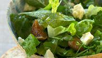 Salat med figner og friske mynteblade