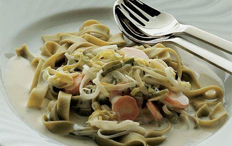 Grøntsagssauce til pasta