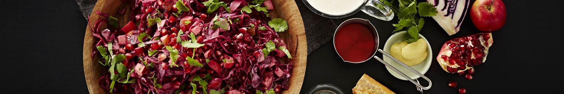 Hurtig + Tranebær + Salater + Efterår