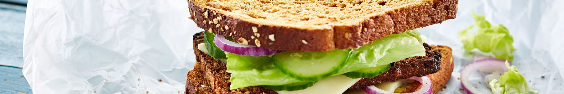 Fedtfattig + Vegetarisk madplan + Madpakke