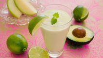 Smoothie med avocado og melon