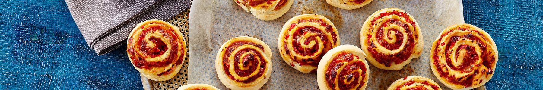 Brød og boller + Pizzaer