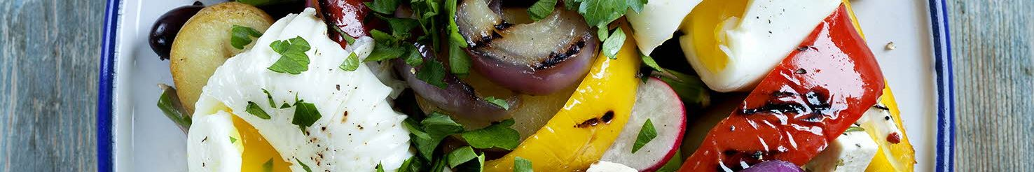 Fedtfattig + Nye kartofler + Vegetar