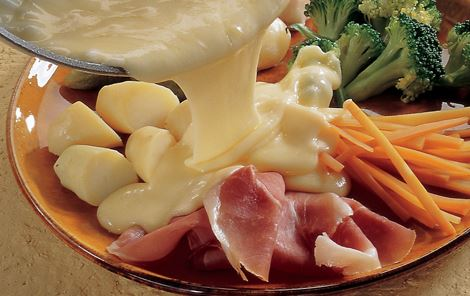 Grøntsager med varm ost