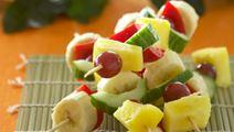 Frugt- og grøntspyd