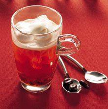 Te med cognac og fløde