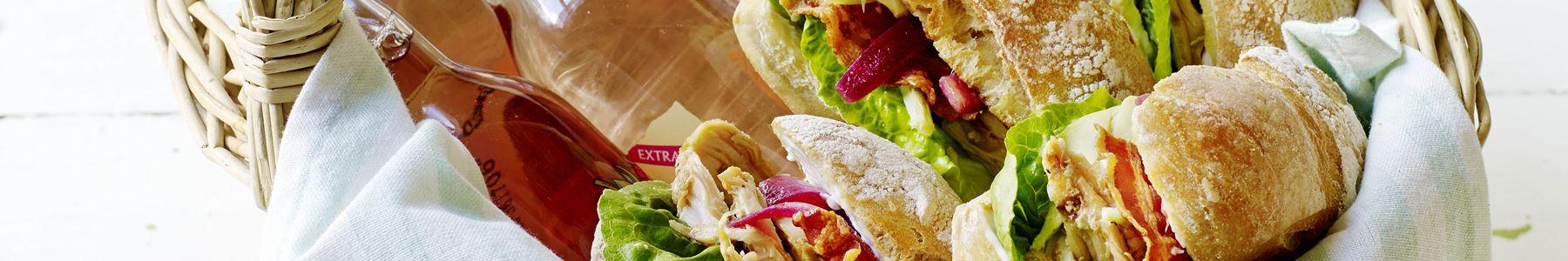 Fjerkræ + Sandwich + Fest