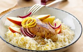 Krydret kylling med citronris
