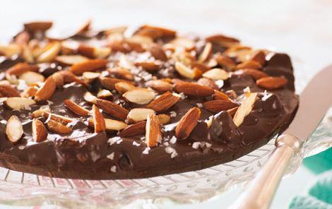 Chokoladetrøffeltærte