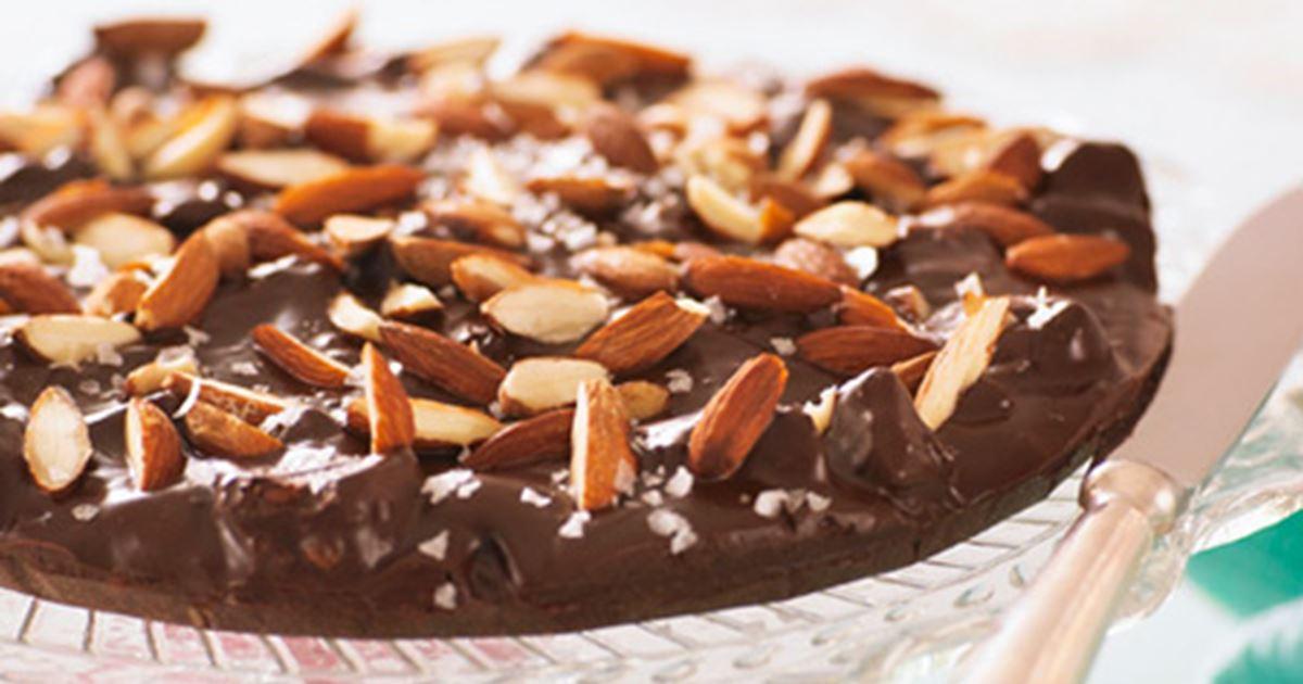 Chokoladetrøffeltærte Opskrifter Arla