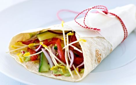 Wrap med avocadospread