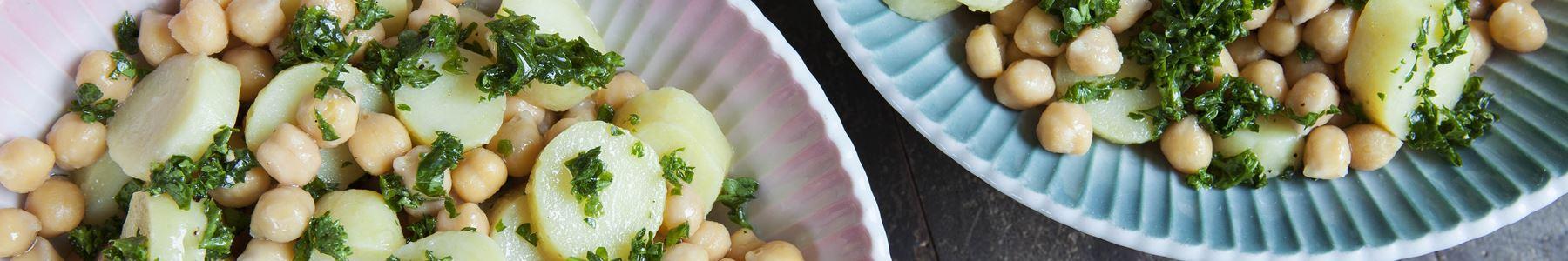 Kikært + Salater + Efterår