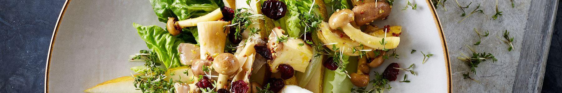 Ikke fryseegnet + Salater + Torskefilet