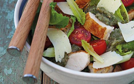 Aubergine + Salater + Efterår