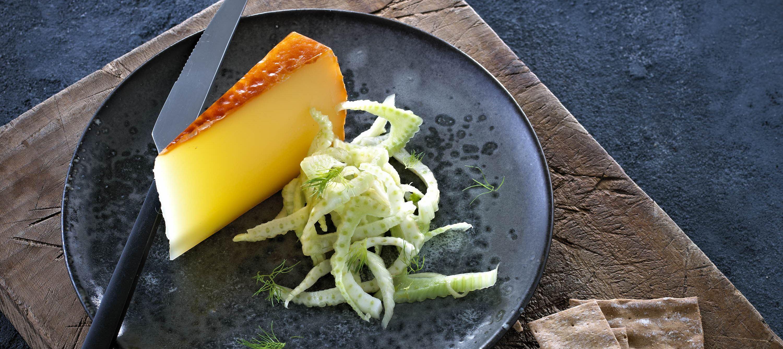 Marineret fennikel til ost