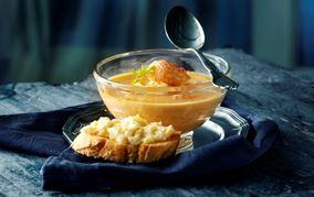 Hummersuppe med fennikel og ost