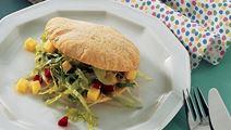 Salat til burgerboller