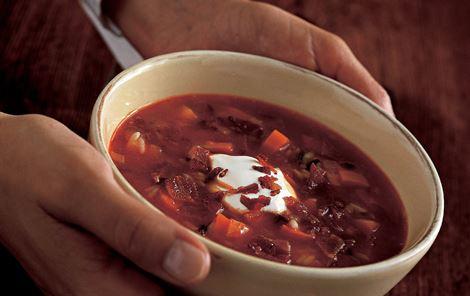 Krydret gulerodssuppe