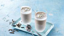 Kakaomælk med is og chokolade