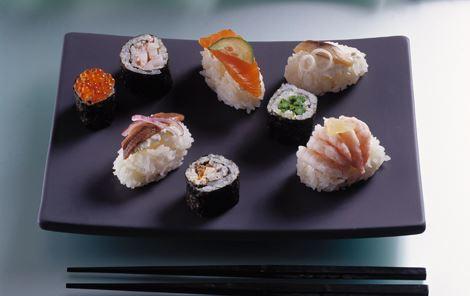 Dansk nigiri sushi