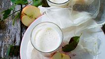Smoothie med æble og honning