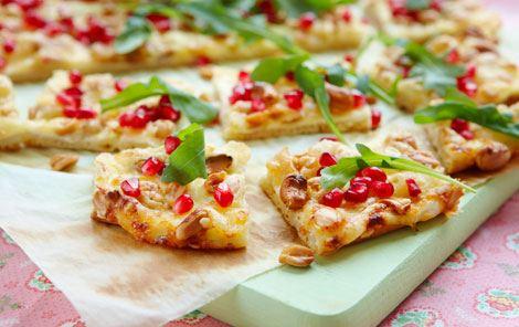 Granatæble + Pizzaer