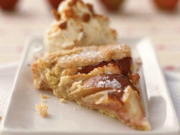 Æblekager - æbledessert - Opskrifter - Arla