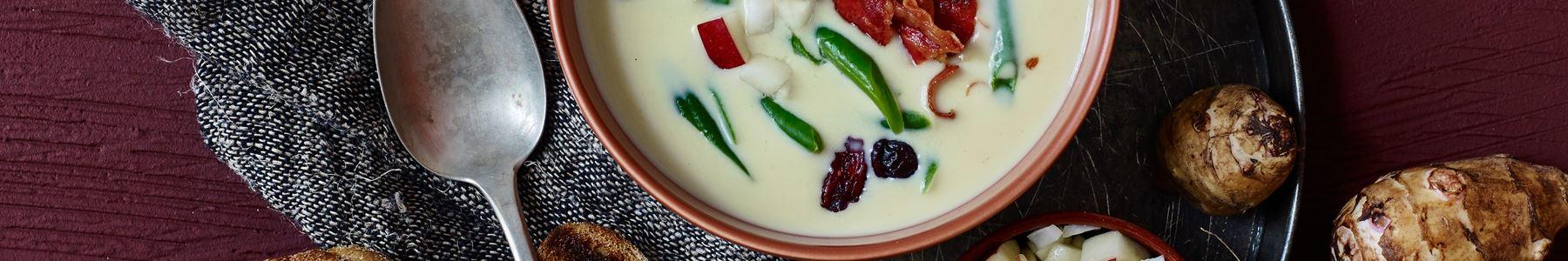 Tranebær + Varme supper