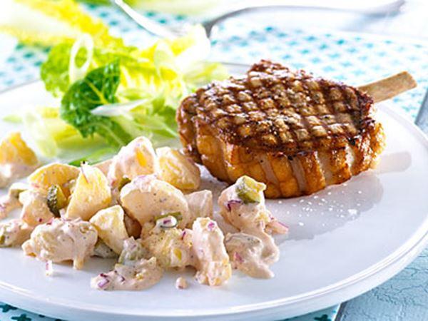 Kold kartoffelsalat - Opskrift fra Karolines Køkken