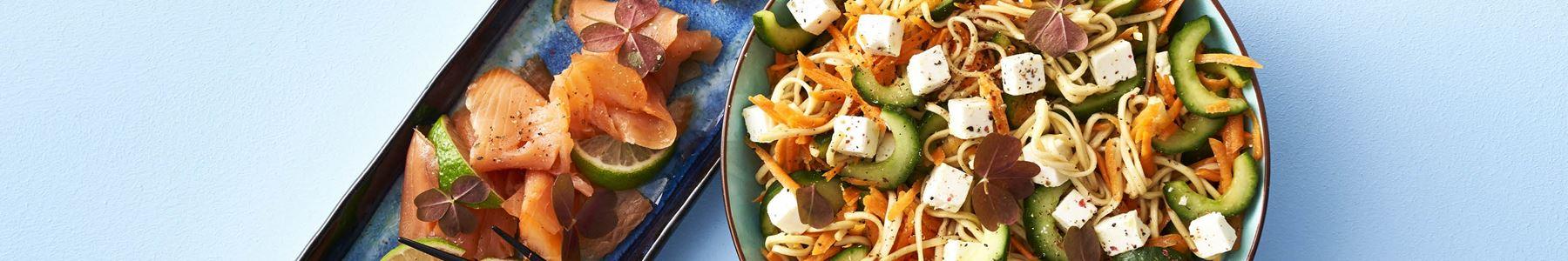 Hurtig + Gulerod + Salater + Nudler